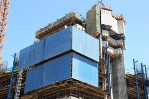 Hydraulic Climbing Formwork Protection Panel Supporting System