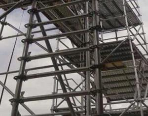 Aluminium Scaffold Stairs with platform CNBM