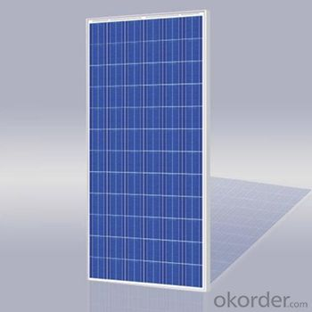 Polycrystalline Solar Panels for 250-W Series