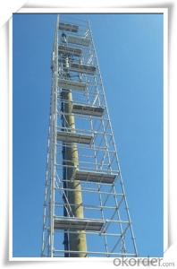 Steel Ringlock Scaffolding System with Electric Gavenized  CNBM