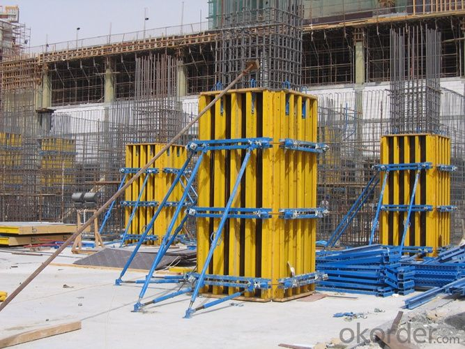 Flat Formwork with H20 Timber Beam and WISA Plywood