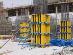 Flat Formwork with H20 Timber-Beam and WISA Plywood