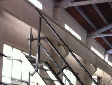 Ringlock Scaffolding System-Removable Exterior Stair handrail CNBM