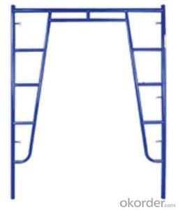 Flip Lock Series Frame Scaffolding with Steel Q235 Q345 CNBM