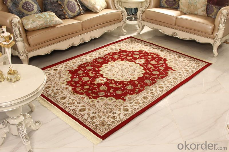 Chenille Jacquard Carpets and Rugs Machine Tufted with Best Quality