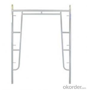 Drop Lock Series Frame Scaffolding with Steel Q235 Q345 CNBM