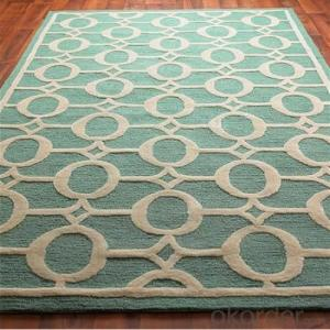Credit Insurance Exhibiton Fireproof Hand Tufted Carpet/Rug