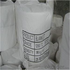 Ceramic Fiber Blanket 3600*610*50mm Made in China