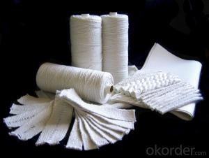 Ceramic Fiber Textiles ( Rope.Cloth,Tape and Yarn)