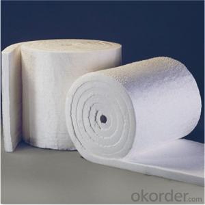 Ceramic Fiber Insulating Materials 1260℃ STD, 128Kg/m3 Density