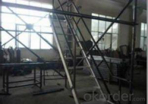 Facade Scaffolding System-Aluminium Scaffold Ladder CNBM