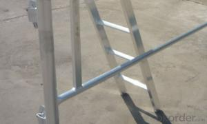 Scaffolding System-Aluminium Platform with ladder CNBM