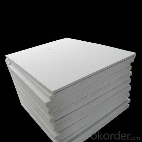 Ceramic Fiber Board Made in Wet Vacuum Forming Process