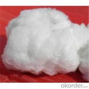 Ceramic Fiber Spun Bulk with Pure White Thermal Insulation