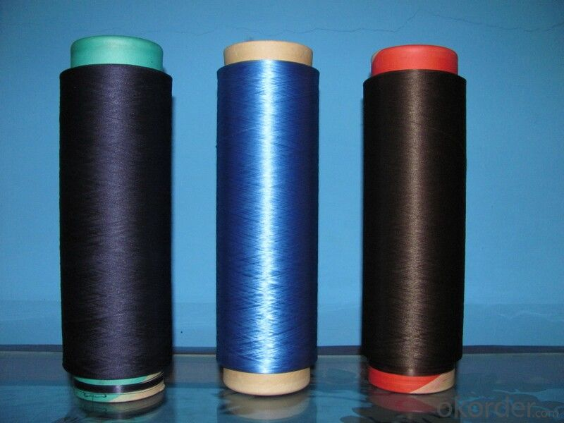 Nylon Spandex Coverd Industrial Yarn Dyed FDY