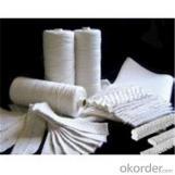 Fibra cerámica textil con aislante térmico de alta temperatura