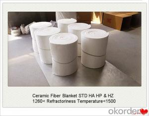 Ceramic Fiber Blanket STD HA HP and HZ High Tensile Strength