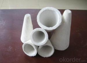 Vacuum Formed Aluminium Silicate Tap Hole Cone For Aluminium Sheet Rolling