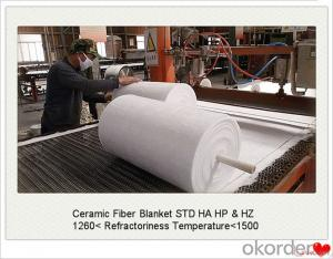 Ceramic Fiber Blanket Roll STD HA HP and HZ Pack in Bag or Case
