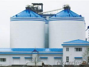 Heat Insulation Steel Silos Long Term Grain Storage