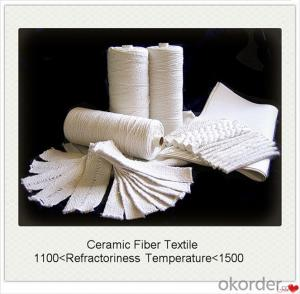 Ceramic Fiber Textiles Cloth Rope Tape Excellent Insulation at High Temperature