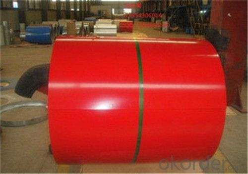 Prepainted Galvanized Colored  Plate / Sheet in China