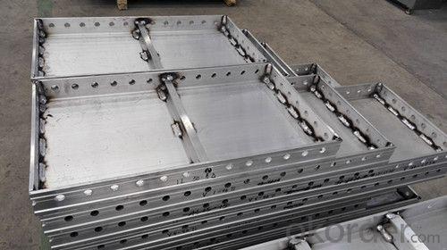 Aluminum shuttering formwork for columns