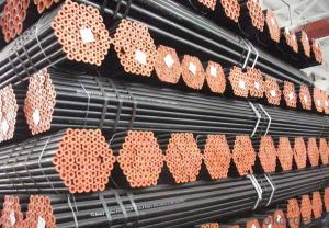 Seamless steel tube for medium and low pressure boiler