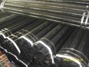 Multi material seamless steel pipe for conveying petroleum