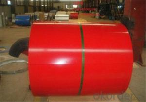 Galvanized Rolled Steel Colored Coil/Sheet from China