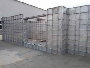 Aluminum Formwork for House Roof with Long Using Time