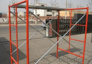 Cup Locked Scaffolding with High Degree of Standardization