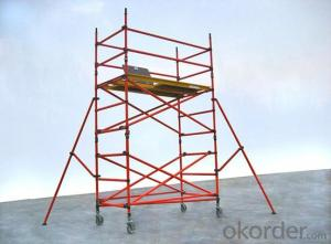 Frame Connected Scaffolding with High Qulity and Competitive Price