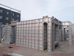 Aluminum Formwork for Residential Houses Construction with Light Weight