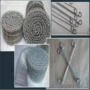 Looped Tie Wire/Baling Wire with Good Quality Galvanized Annealed,PVC Coated