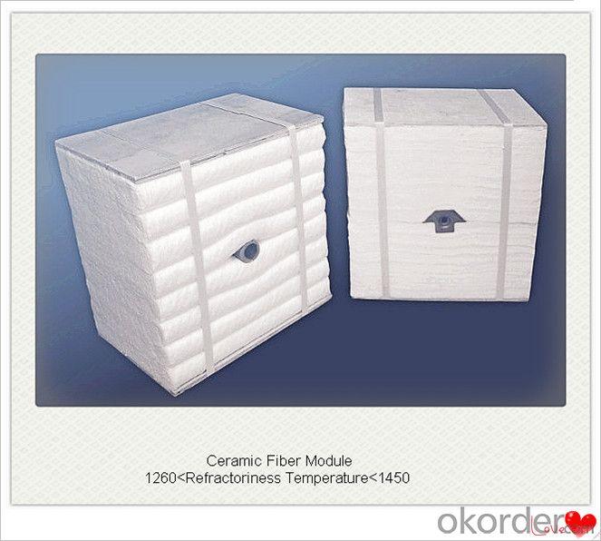 Ceramic Fiber Module Boiler Insulation with Achor System in Furnace and Kiln Insulation