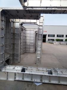 Wholly Aluminum Formwork for Suqare Column With Rcycle Using