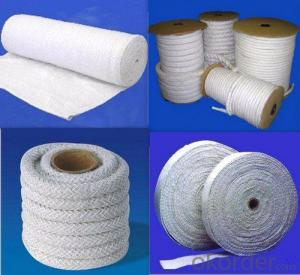 Heat Insulation Material Ceramic Fiber Textiles For Refractory