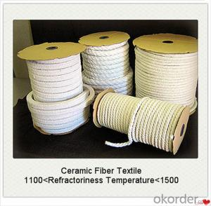 Ceramic Fiber Textiles Cloth Tape Rope Lightweight and Low Thermal Conductivity