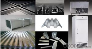 Hot-dip Zinc Coating Steel Building Roof Walls in Good Price