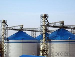 Grain Storage System Wheat Steel Silo Storage