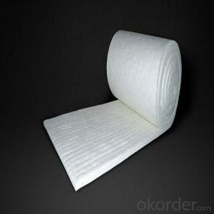 Ceramic Fiber Insulating Blanket Roll 3600*610*50mm, 128 Bulk Density