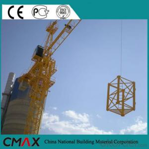 TCD4021 8T Luffing Tower Crane with CE ISO Certificate