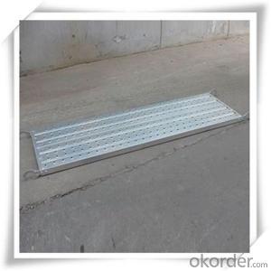 Hot Dip Galvanized Steel Plank catwalk 480*45*1.2*1829 CNBM