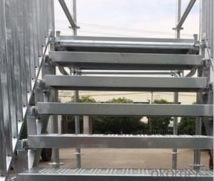 Facade Scaffolding Steel System for heavy load scaffolding