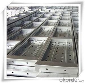 Hot Dip Galvanized Steel Plank Metal Planks 240*45*1.2*2000/30004000mm CNBM