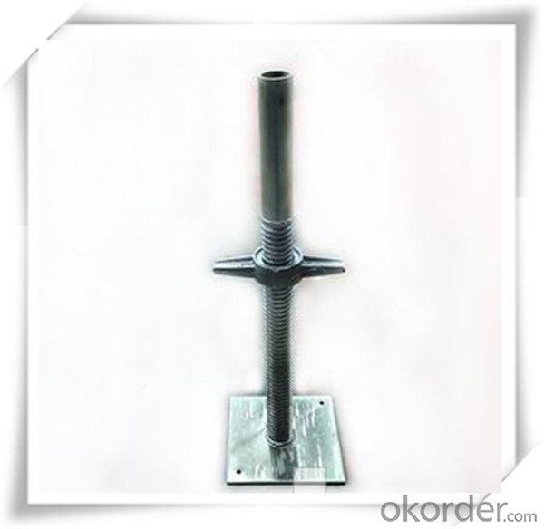 Painted  Solid U-Head Jack  M34x400MM/150x120x50x5MM CNBM