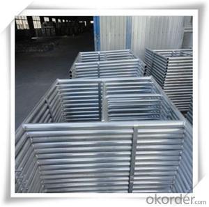 Hot Dip Galvanized H Frame Scaffolding 1219*1219*42*2.0 CNBM
