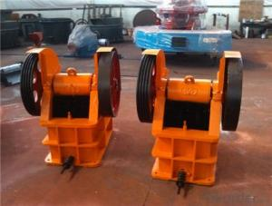 Jaw Crusher With Casting Procedure with Firm Rack