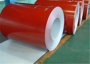 Painted Galvanized Corrugated Coil / Sheet -PPGI in China